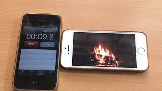 iPhone 5s - iOS 11.2.5 (battery life test playing youtube)