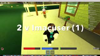 Roblox - Imac user 20 - Episode 1 in the new city.