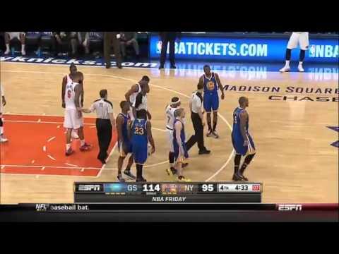 Tyson Chandler ejected vs Warriors