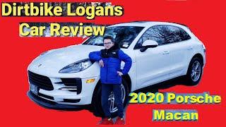 Kids Supercars - Dirtbike Logans Porsche Macan Car Review
