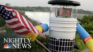 HitchBOT's U.S. Tour Ends With Vandalization in Philly | NBC Nightly News