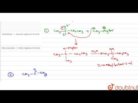 which-of-the-following-grignard-reagents-is-suitable-for-the-preparation-of-3-methyl--2-butanol-?