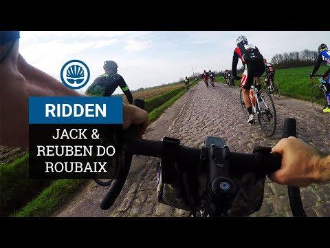 Roubaix On Gravel Bikes - Jack & Reuben Ride Pavé In Style