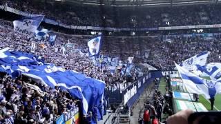 Schalke Dortmund 14.04.2012 Stimmung Nordkurve