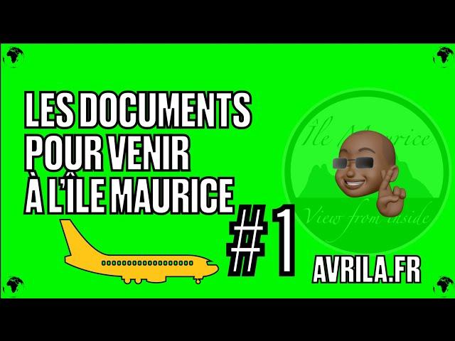 Quels sont les différents types de permis et visas pour entrer à l'île Maurice ?