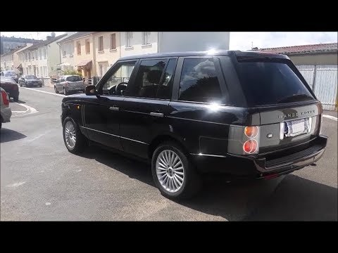 2003 Range Rover HSE startup, engine and in-depth tour