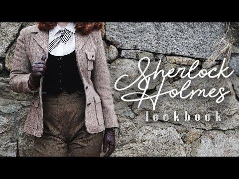 A Vintage Sherlock Holmes Lookbook || (ft. June's Journey)