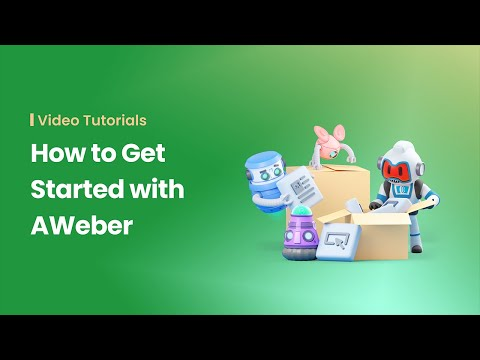 How to Get Started with AWeber (Outdated Version - See Description For New Link)