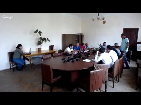 Տաշիր համայնքի ավագանու նիստ 17.08.2018