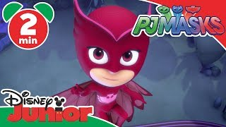 PJ Masks | Owlette's Sticky Wings! | Disney Junior UK