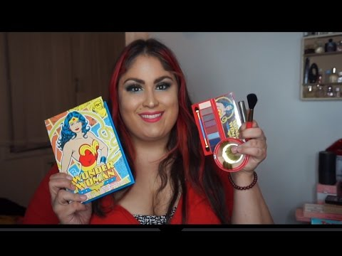 Walgreens Wonder Woman Makeup collection Review Swatches