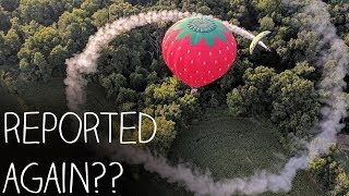 Leaving Smoke Rings Around Hot Air Balloons!!!