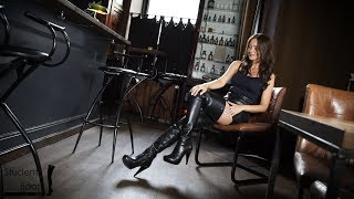 Mila is back Trailer. Mila in Boots and Gloves out in Berlin.