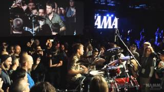 NAMM 2014 - Billy Rymer - TAMA 40th Anniversary Party