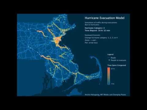 Hurricane Evacuation Traffic Model