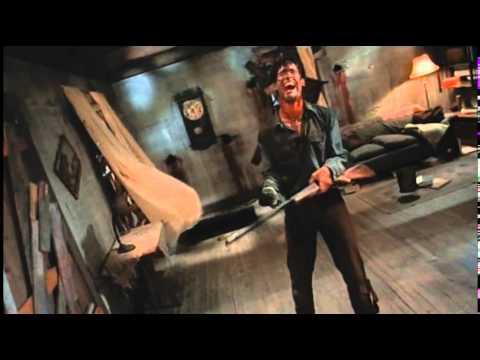 Evil dead 2 (escena del baile con la lampara - En latino)