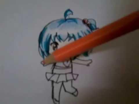 Vẽ Chibi đơn giản bằng bút mực