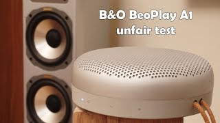 Video Bang&Olufsen BeoPlay A1 vs decent stereo system (binaural) download MP3, 3GP, MP4, WEBM, AVI, FLV Mei 2018