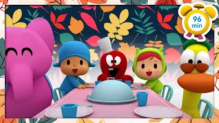 🍗 POCOYO in ENGLISH - Thanksgiving Day [ 96 minutes ] | Full Episodes | VIDEOS and CARTOONS for KIDS