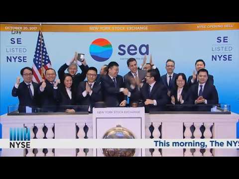 SEA LTD (SE) IPO Listing on NYSE