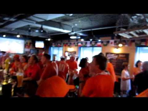 Holland beats Brasil Georgetown pub Ottawa