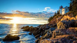 """Relaxing music, Nature sounds, Piano, My Day in Maine"""" by Tim Janis"""