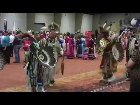 Grand Entry Pt 1 - Choctaw PowWow  Durant
