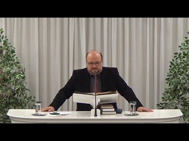 Σωτήρης Ντάουλας 05-12-2018 | Ιερεμίας α' 4-19