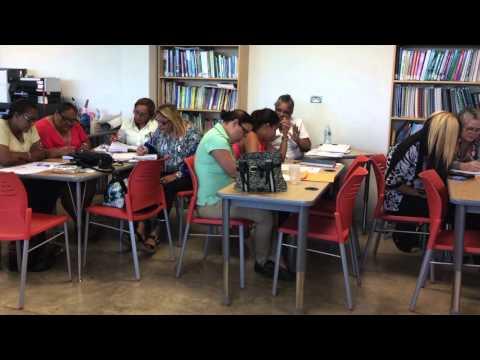 Seminarios del Departamento de Educación sobre los Puerto Rico Core Standards y UbD