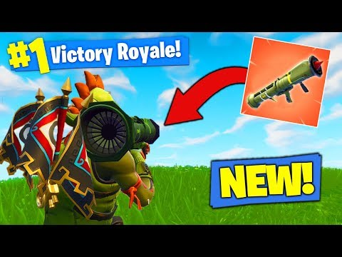 *NEW* LEGENDARY GUIDED MISSILE GAMEPLAY In Fortnite Battle Royale!