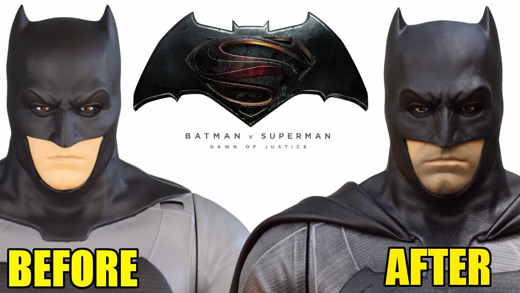 Jakks Pacific Batman V Superman Batfleck Makeover Custom Collectable You
