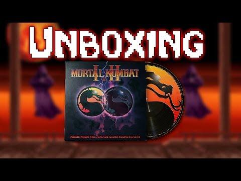 Unboxing the Mortal Kombat Game Vinyl Soundtrack! thumbnail