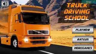 truck driving school 3d android gameplay hd
