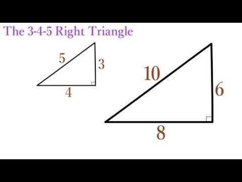 Lesson 12   The 3-4-5 Right Triangle