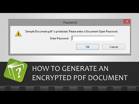 how to open password protected pdf documents free