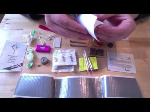 """""""Survival Kit In A Can"""" : Sardine Can Survival Kit Review"""
