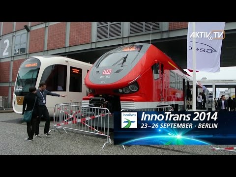 InnoTrans 2014, Berlin • Exhibitor Notes • AKTIV Booth Construction & Film Production