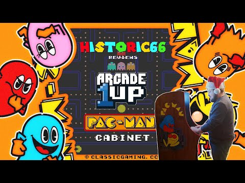 historic66 reviews - episode 2: arcade1up pac-man 7-in-1 cabinet from historic66