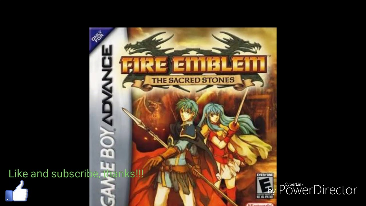 fire emblem the sacred stones gba fr