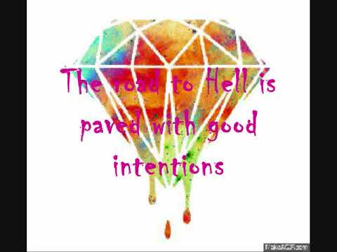 The Chainsmokers - Good Intentions ft. BullySongs (Lyric)video