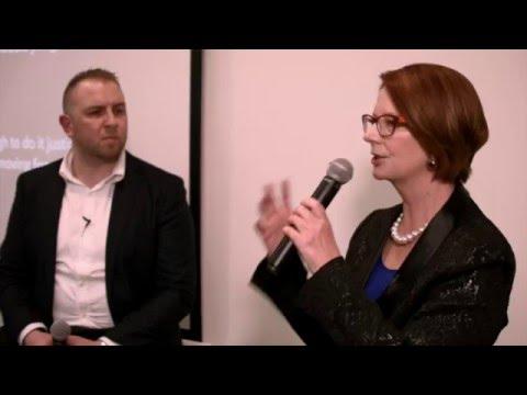 Startup Grind Melbourne hosts Hon Julia Gillard (Ducere)