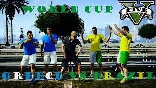 "GTAV Online Funny Moments ""World Cup Brazil VS Greece 2014"""