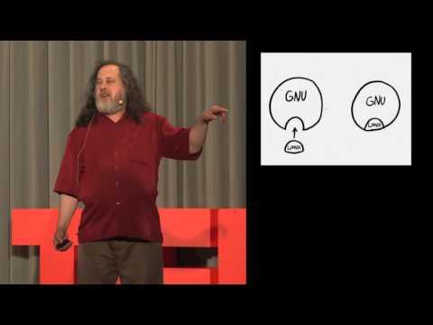 O que é Software Livre, palestra Richard Stallman - Tradução simultânea - Português Brasil