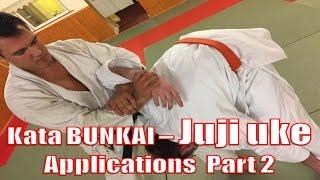 Kata Bunkai - Juji Uke Applications Part 2 - Arm Lock (Ushiro ude gurami)