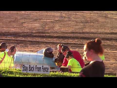 Hummingbird Speedway (7-7-18): Cypress Clock & Gift Shop Street Stock Heat Race #1