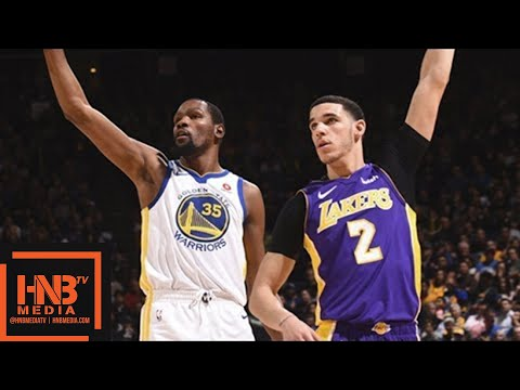 188b6602b842 Los Angeles Lakers vs Golden State Warriors Full Game Highlights   March 14    2017-18 NBA Season
