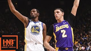 Los Angeles Lakers vs Golden State Warriors Full Game Highlights / March 14 / 2017-18 NBA Season thumbnail
