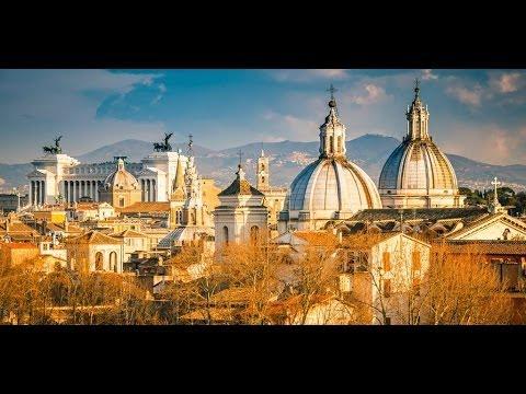 Panorama di roma a 360° gradi dalla terrazza di castel sant\'angelo ...