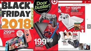 COMPARATIVA OFERTAS Blackfriday 2018 de Nintendo Switch , PS4 y Xbox en USA Folleto Oficial TARGET