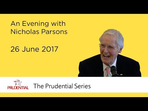 An Evening with Nicholas Parsons